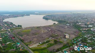 Территория бывшего металлургического завода в Верхней Салде (ВСМЗ), июль 2020