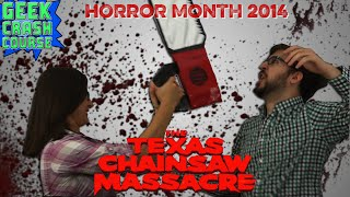 The Texas Chainsaw Massacre - Leatherface Starts Up Horror Movie 2014! - Geek Crash Course