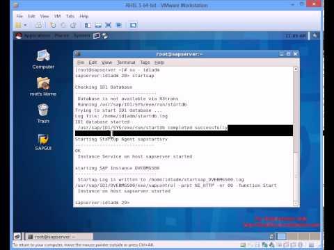 How to run SAP IDES ECC6 on RHEL