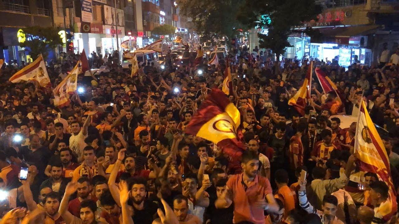 Adıyaman'da Galatasaray Coşkusu