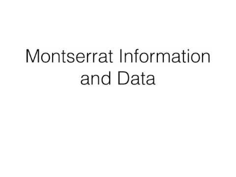 Montserrat Presentation