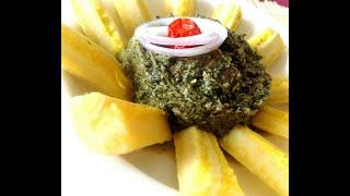 Feuilles de manioc aux arachides