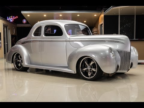 1940 Ford Coupe Street Rod For Sale