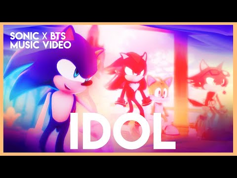 【Sonic MMD】BTS「IDOL ✨」|  Sonic Version (feat. Shadow, Silver & more) |【full music video】
