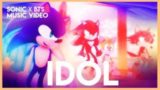 【Sonic MMD】BTS「IDOL ✨」|  Sonic Version (feat. Shadow, Silver \u0026 more) |【full