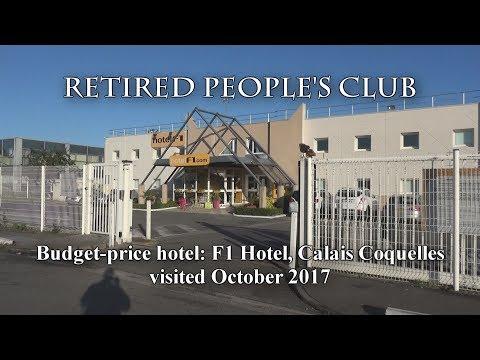 Review - F1 Budget Hotel, Calais, October 2017