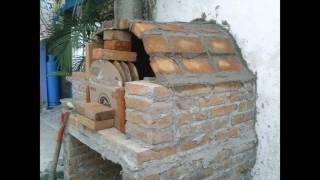 Horno de leña, como construir uno de forma FÁCIL