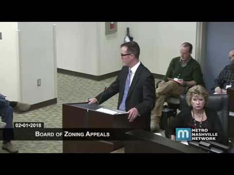 02/01/18 Zoning Appeals Board