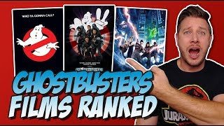 All 3 Ghostbusters Movies Ranked