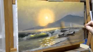 Мастер Класс Море с Комментариями(, 2014-09-08T13:56:54.000Z)