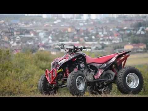 Test drive Honda trx 700xx