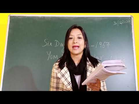 Class 12 History Chapter 11 - Middle East - Israeli - Palestine Conflict - Part 3