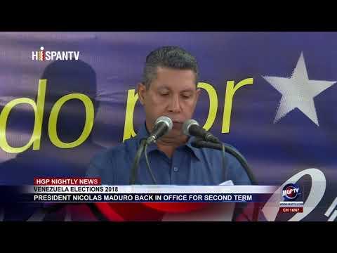VENEZUELA ELECTIONS 2018