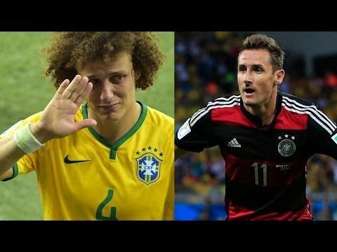Mondial-2014: l'Allemagne en finale, le Brésil en enfer