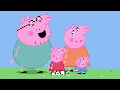 小豬佩奇 第七季中文版 1-13 精選合集 1小時連續看 Peppa Pig 7 Season 1 13 Featured Collection 1 hour continuous viewing