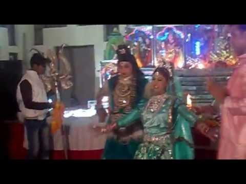 shiv-parwati-jagran-video,-shankar-dance,-jagran-party