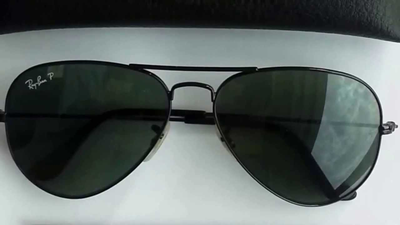 b35a7dbd3fc How to Spot Ray Ban Aviators Sunglasses Authenticity - YouTube