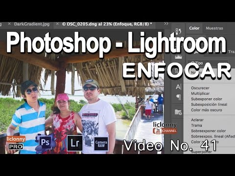 Tutorial Enfocar. Photoshop Y Lightroom # 41 ¿Qué Es El Enfoque Avanzado Con PHOTOSHOP?. Liclonny