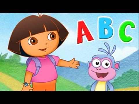 Dora The Explorer Games - ABC SONG for Children - ABC