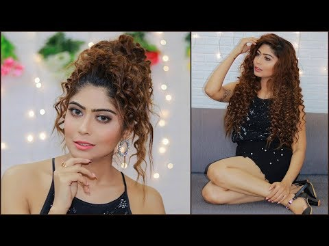 How To Do Party Makeup and Hairstyle Step by Step For Beginners in Hindi | Rinkal Soni