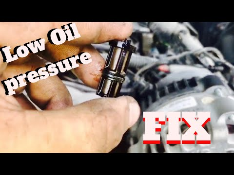 Quick Tip :How to replace oil pressure sensor on GM trucks