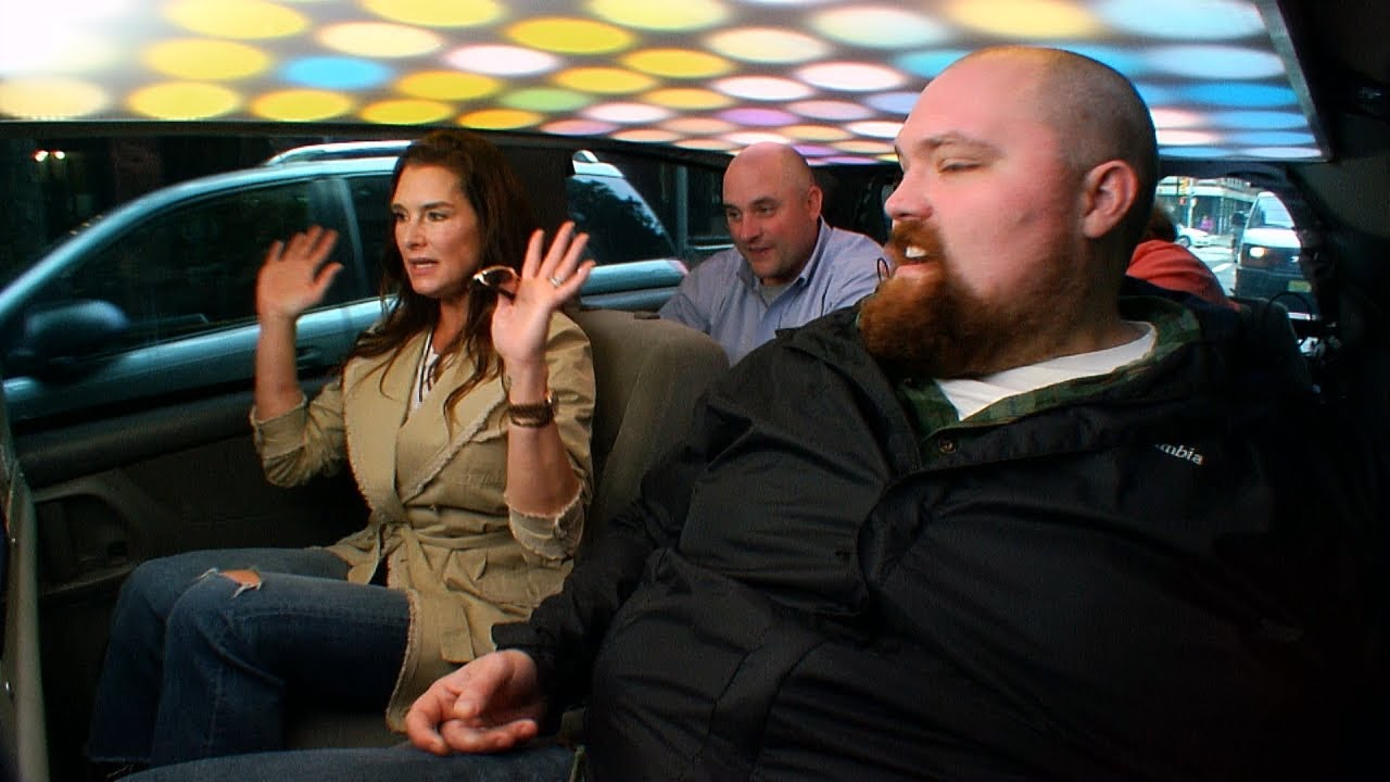 Brooke Shields Gets In The Cash Cab This Lady Goes Nuts Youtube