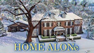Один дома│Строительство│Home Alone│SpeedBuild│NO CC [The Sims 4]