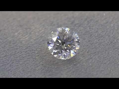 1.19 CT 6.56 mm NATURAL DIAMOND G Certificate video
