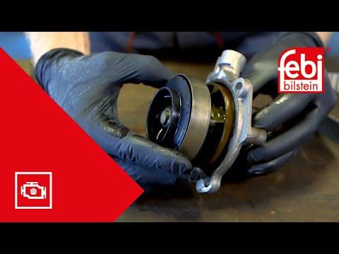 [RU] насос системы охлаждения для двигателей VAG 1,6 л и 2,0 л TDi
