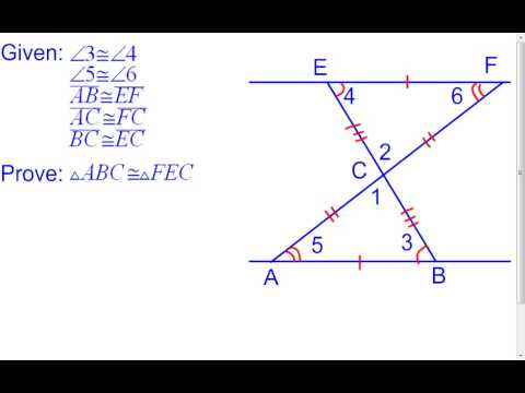 4 3 Congruent Triangles 2 Column And Flow Proof