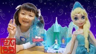 アナと雪の女王 エルサ ライトアップパレス thumbnail