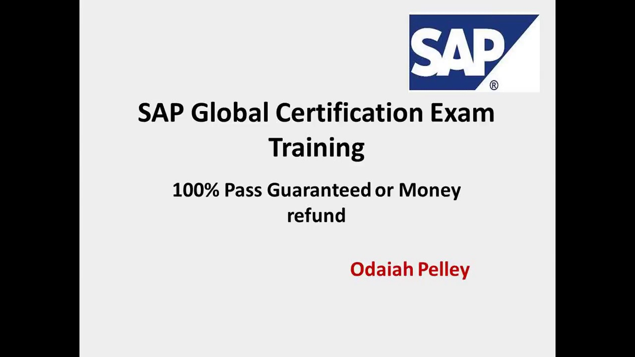 Sap fico certification exam youtube xflitez Images