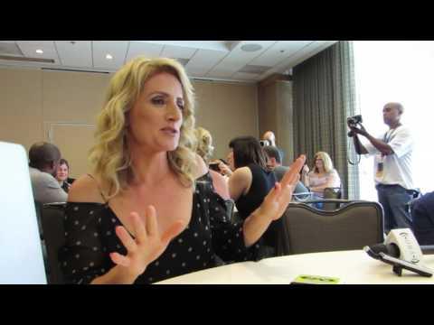 SDCC 2017 Psych star Kirsten Nelson