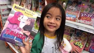 Cara Supaya Anak Semangat Belajar Membaca | Zara Cute Belanja Buku | Kecil Kecil Punya Karya