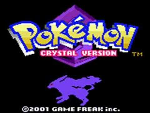 Pokemon Crystal Intro