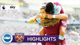 Chicharito trifft für die Hammers | Brighton & Hove - West Ham 1:1 | Highlights - Premier League