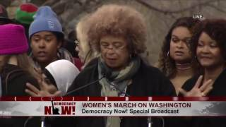 (FULL) Angela Davis SPEAKS at Womens March in Washington, DC 1-21-2017