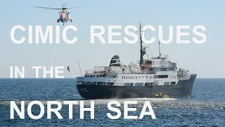CIMIC rescues in the North Sea