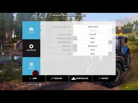 Farming Simulator 2015 Türkçe Yapma Ve Para Hilesi