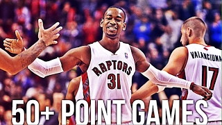 NBA Unexpected 50 Point Games