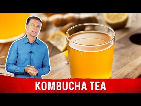 The 7 Benefits of Kombucha Tea