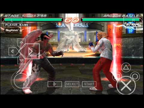 How To Use Azazel In Tekken 6 Ppsspp