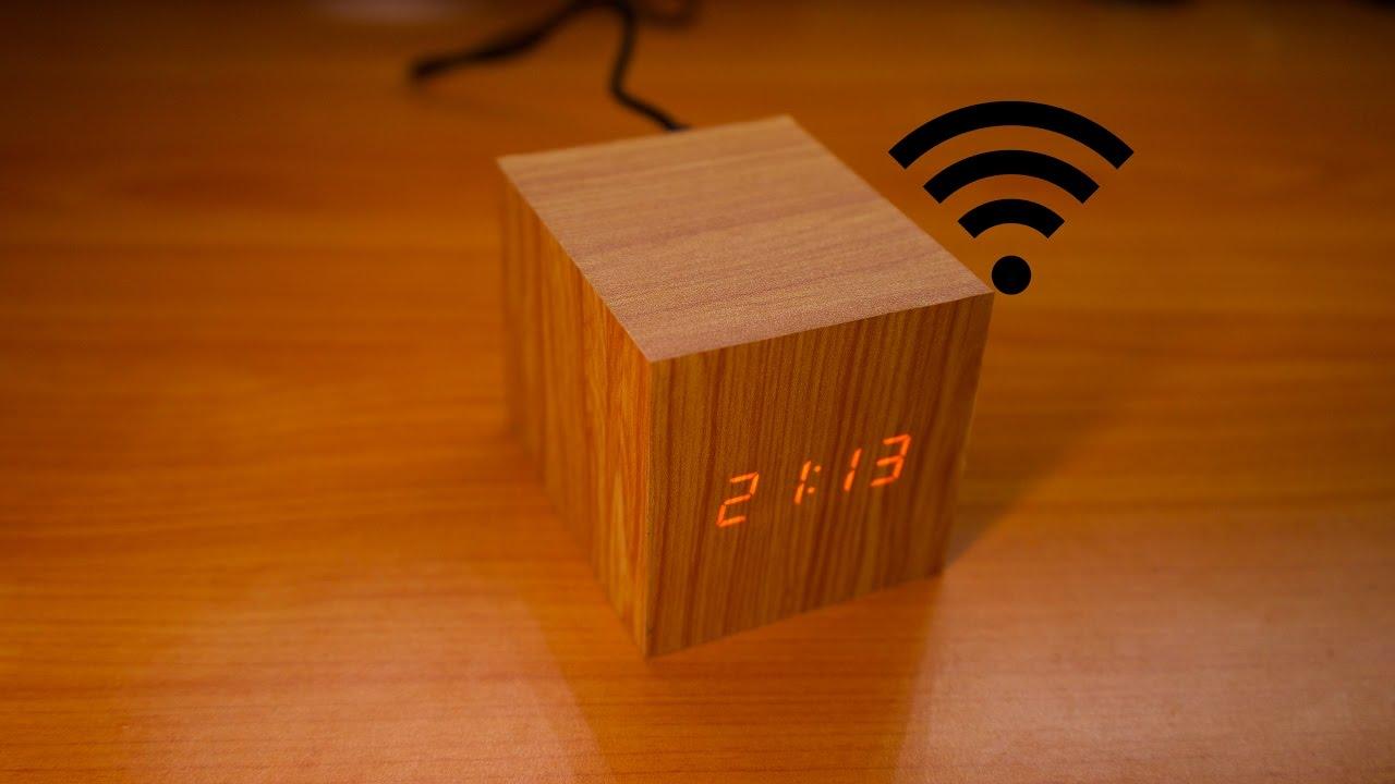 kuumia uusia tuotteita saapuu parhaiten rakastettu Digital Clock Goes With The Grain   Hackaday