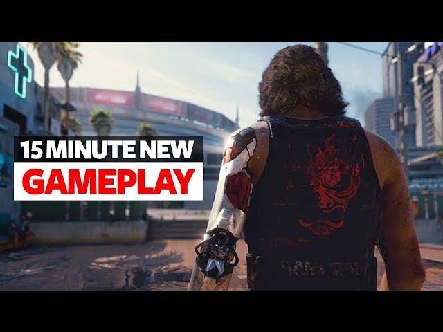Cyberpunk 2077 New Walkthrough Gameplay - Keanu Reeves Gameplay 'Cyberpunk 2077'