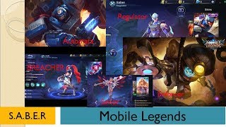Mobile Legends - S.A.B.E.R Squad Member?