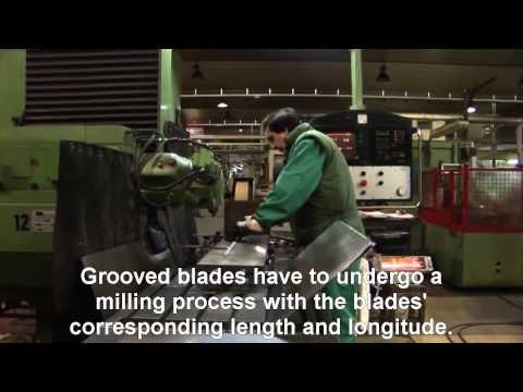 Marto Swords Toledo-Sword making process