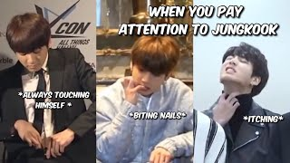when you only focus on jungkook during interviews
