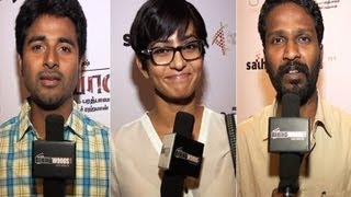 CELEBS AT THE SPECIAL SCREENING OF MARYAN - BEHINDWOODS.COM