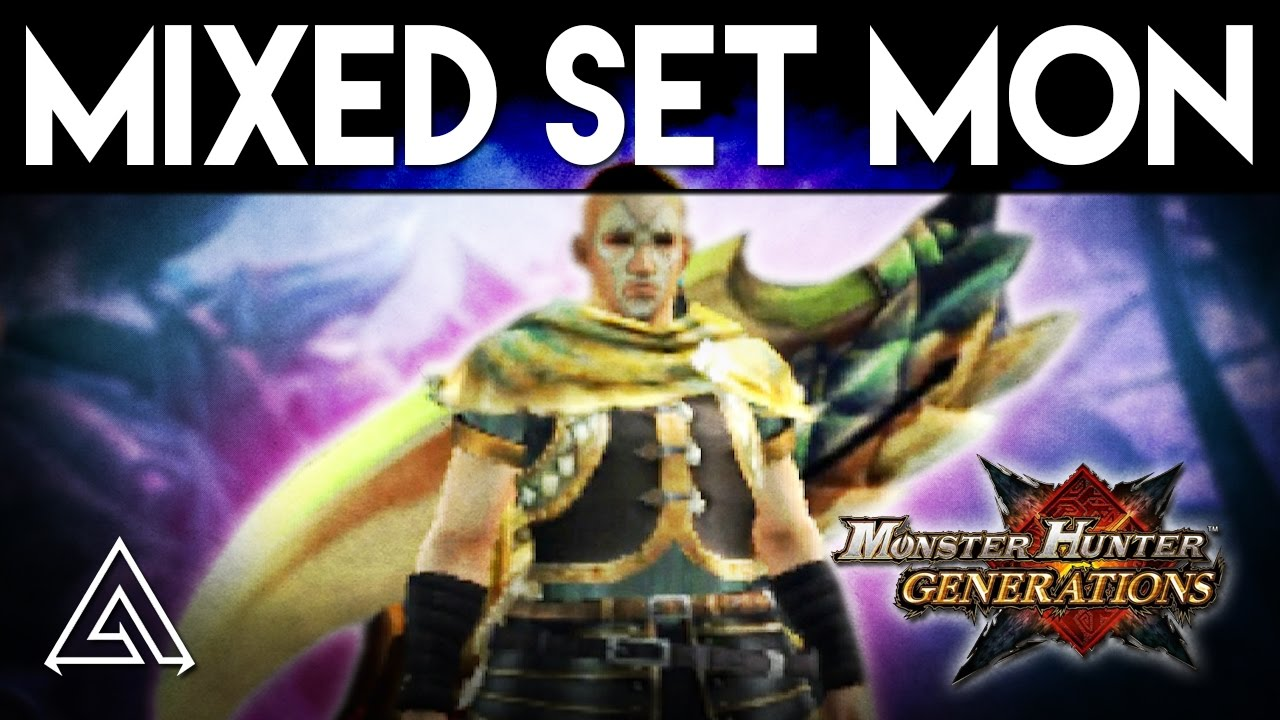 Monster Hunter Generations | Aerial Switch Axe - Mixed Set Monday