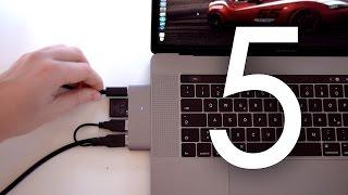 Gambar cover Die 5 coolsten Gadgets fürs Macbook Pro mit Touchbar! - felixba